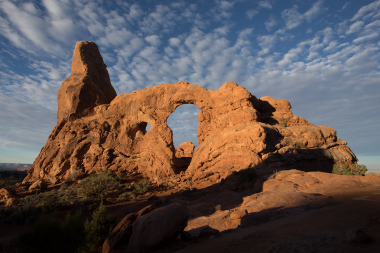 Turret Arch, Arches National Park, Photo: Shallise Kate