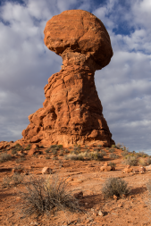 Balanced Rock, Arches National Park, Photo: Shallise Kate