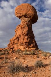 Balanced Rock, Arches National Park, Photo: Shallise Kate