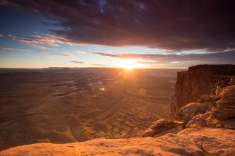 Green River Overlook, Canyonlands National Park Photo: Shallise Kate